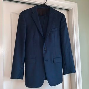"Calvin Klein- Men's Navy ""Extreme Slim Fit"" Suit"